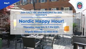 Nordic Happy Hour on Aug 5th!