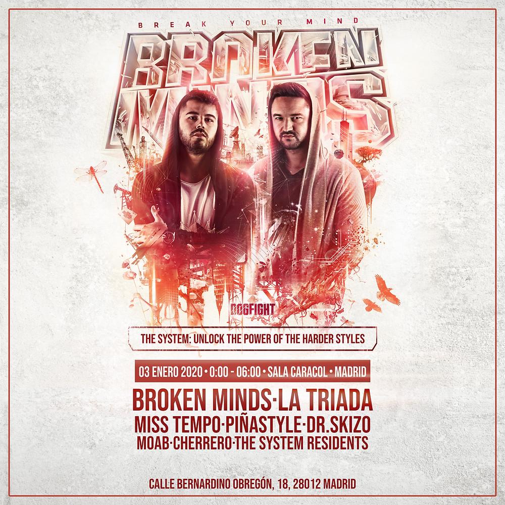 The System en Madrid   Broken Minds