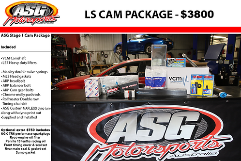 ASG Lvl 1 Cam package