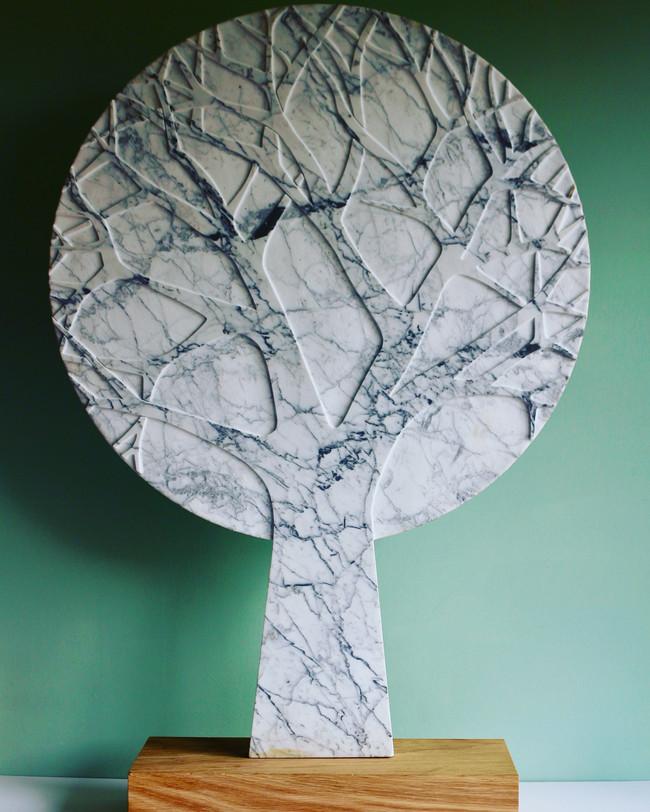 Winter Tree Carrera Marble