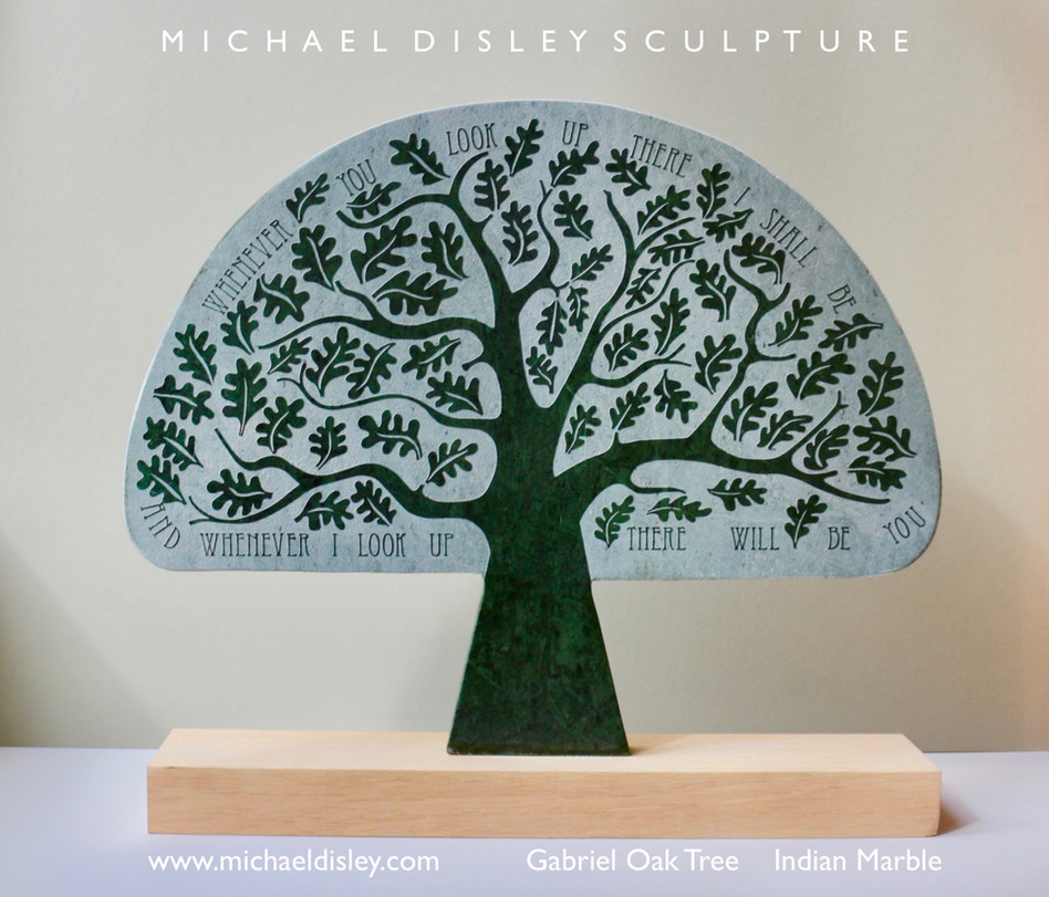 Gabriel Oak Tree Italian Green Marble