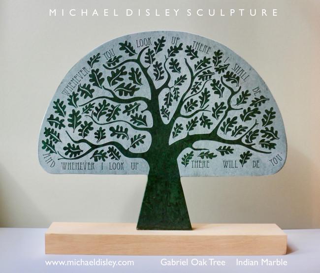 Gabriel Oak Tree Italian Green Marble