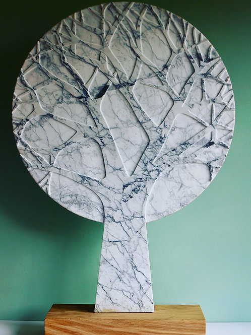 Winter Tree Carrera marble.  670 x450 x 30 mm