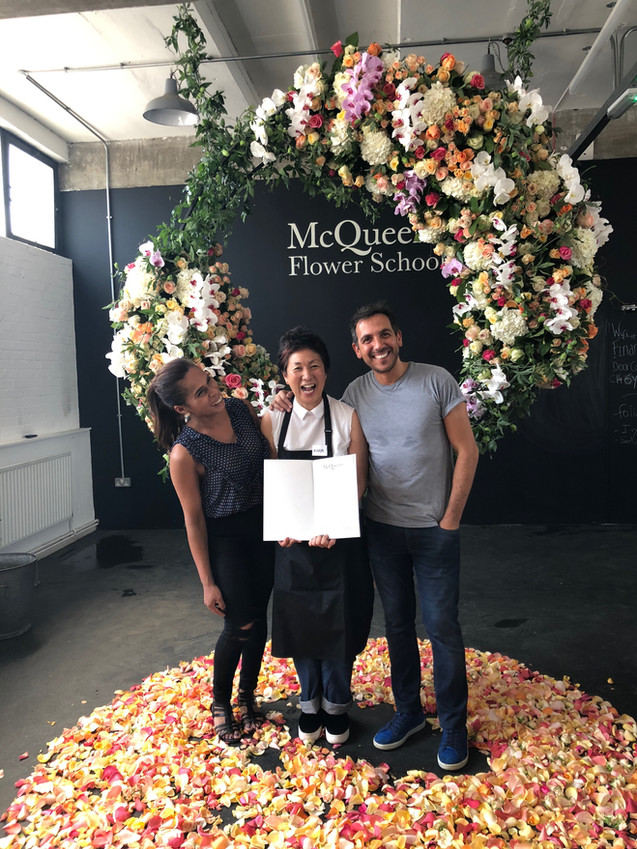 The McQueen Flower School, London