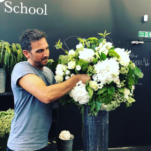 McQueen flower school