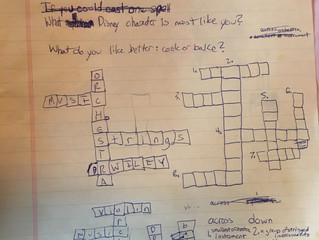 Isabelle's Crossword, HSO trip
