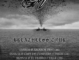 BREATHLESS TOUR ANNOUNCEMENT!