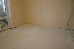 Сухая стяжка Кнауф в комнате