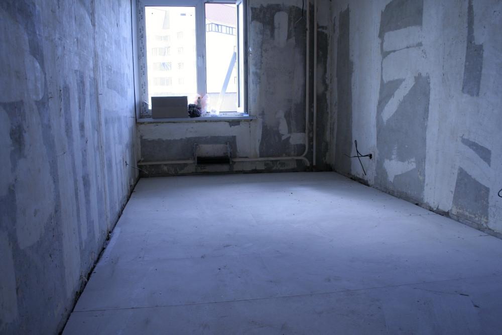 Сухая стяжка в комнате