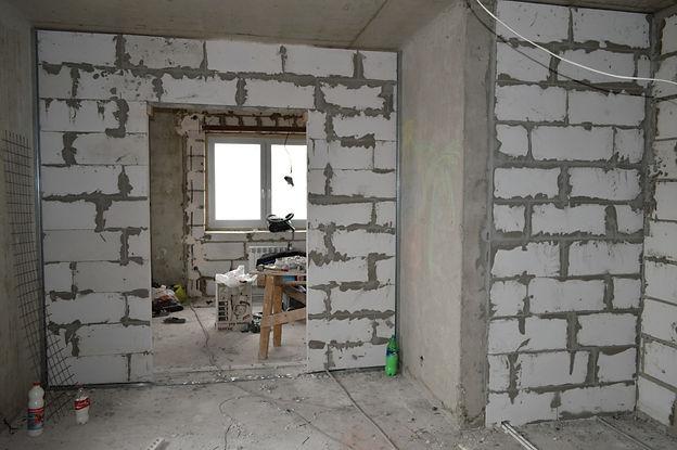 Квартира в новом доме без пола
