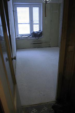 Сухая стяжка в небольших и маленьких помещениях