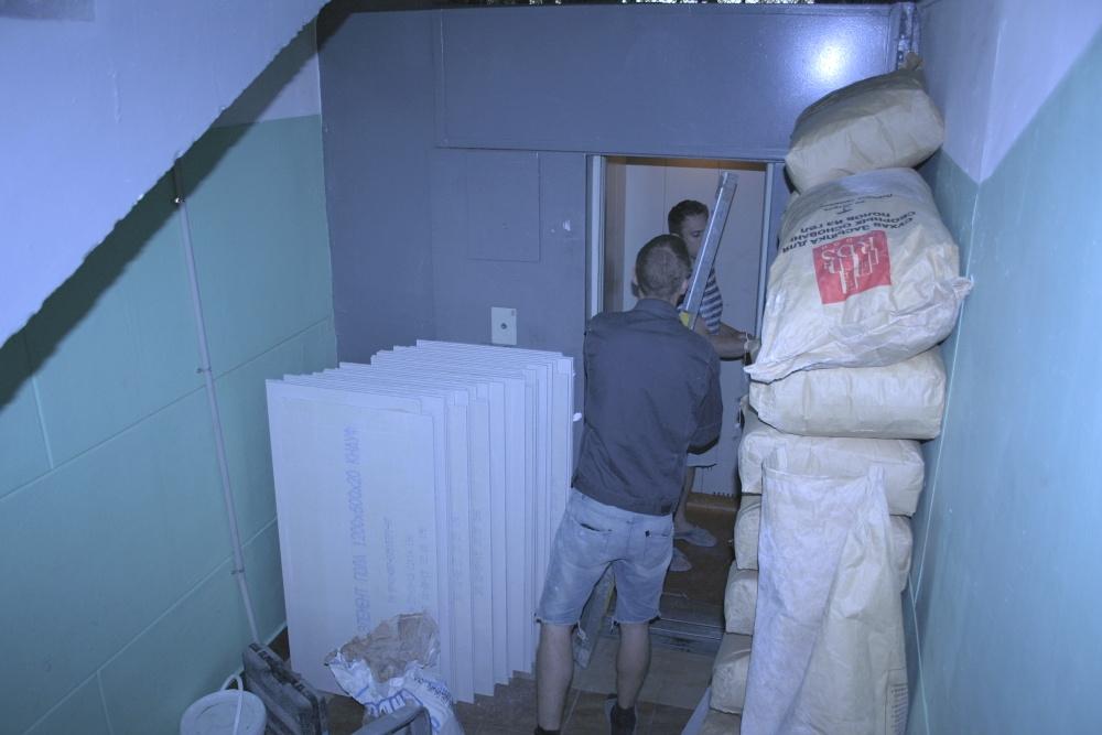 Поднимаем материал на этаж