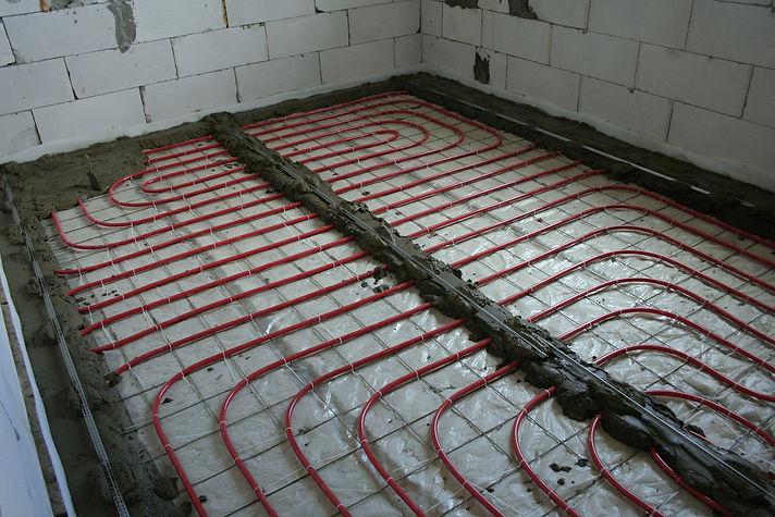 Водяной теплый пол подходит только для цементных стяжек