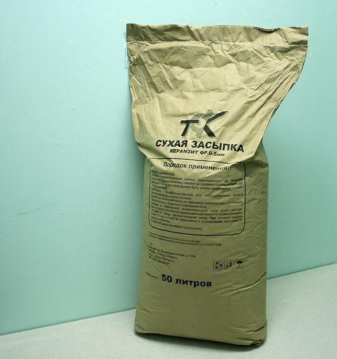 Сухая засыпка ТСК. 50 литров