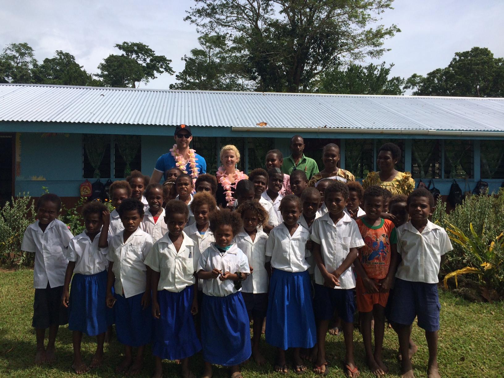 Iethvekar Vanuatu-Emma at school.JPG