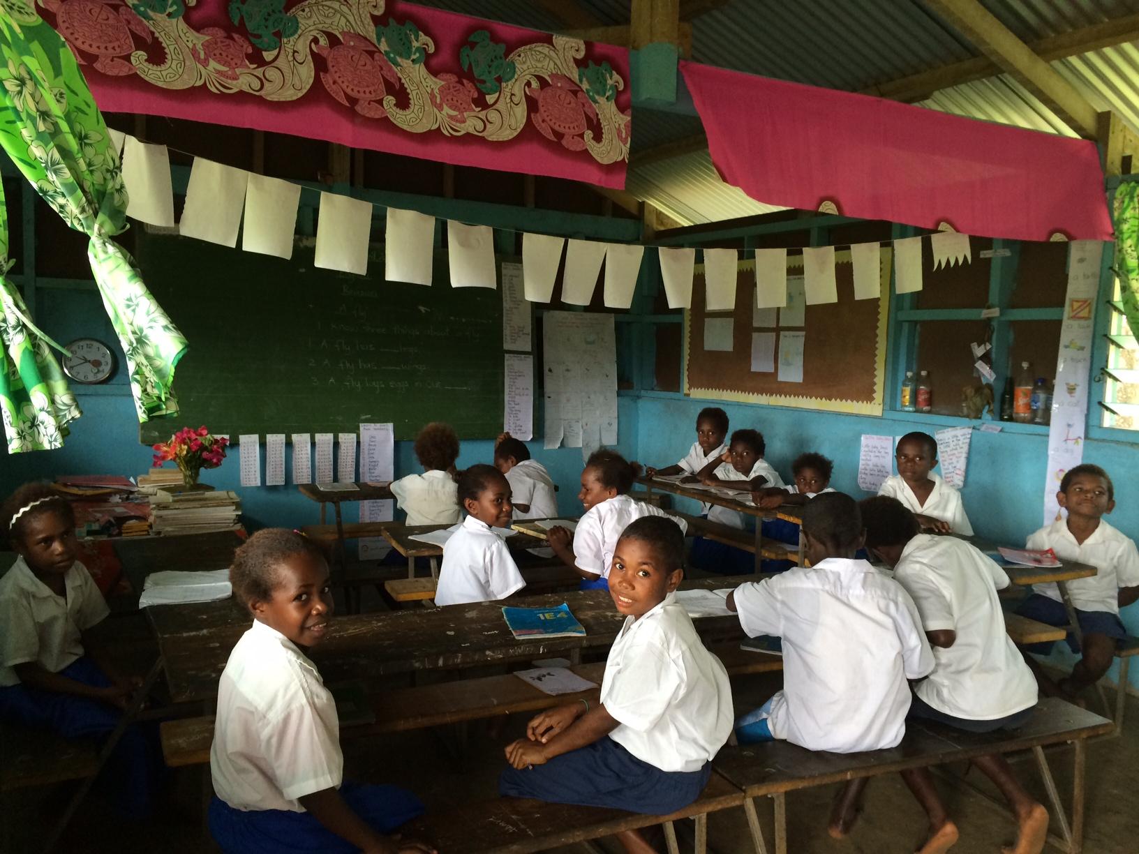 Iethvekar Vanuatu-working hard