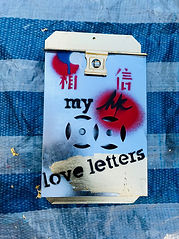 my HK love letters - Mailbox #2