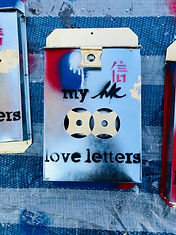 my HK love letters - Mailbox #3