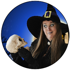 Wanda the wonky witch halloween act