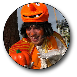 the pumpkin king halloween walkabout act