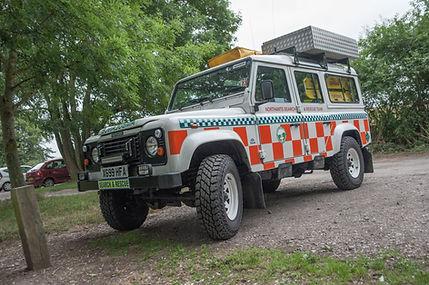 Amy - Our 4x4 Ambulance