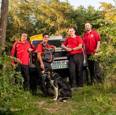 Search Dog Ted & Team