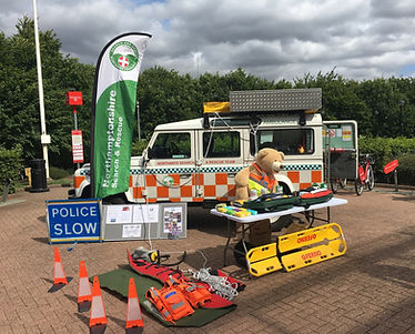 Fundraising Event featuring Amy the Ambulance