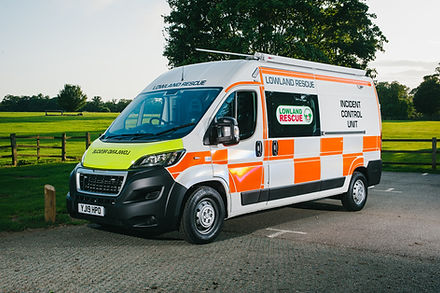 Northamptonshire Search & Rescue's Incident Control Unit