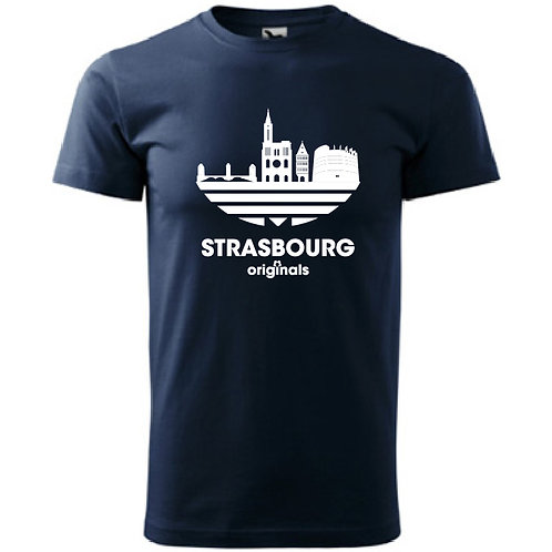 Tee-Shirt bleu marine