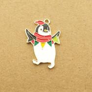 Charms Pingouin Arlequin