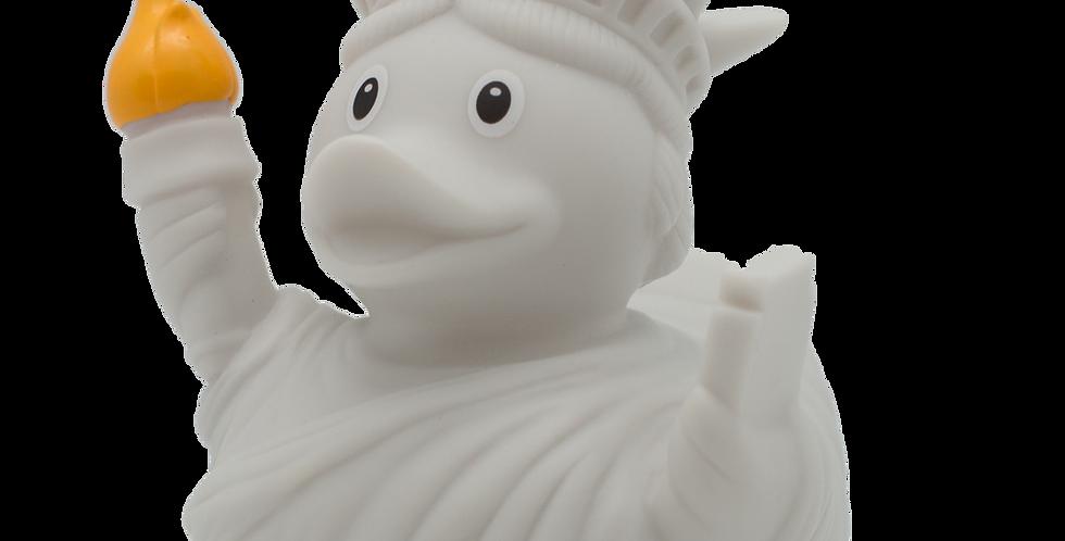 Canard Statue de la Liberté Blanche