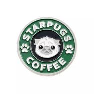 Pins Chien Starpugs Coffee