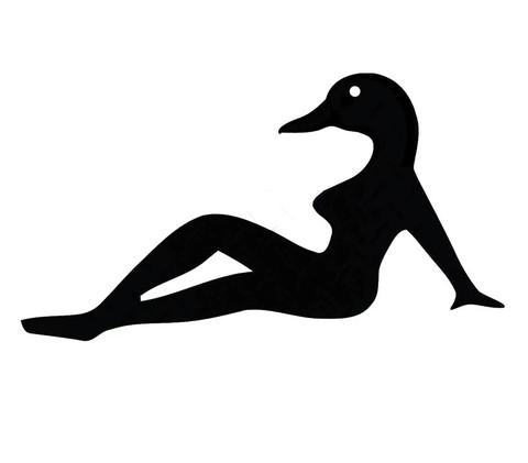 Autocollant Sexy Canard