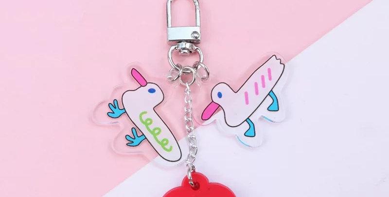 Porte clés Mouette Acrylique
