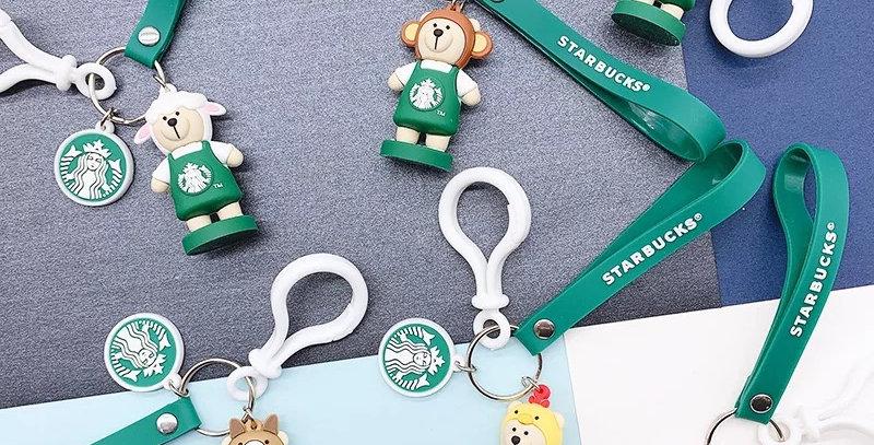 Bear Keychain Chinese Zodiac Signs