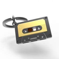 Porte clés Cassette