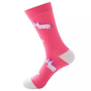 Chaussettes Licorne Roses
