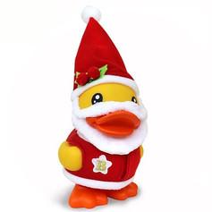 Canard Tirelire Père Noël Jaune