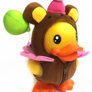 Canard Tirelire Ours Clown - B.Duck