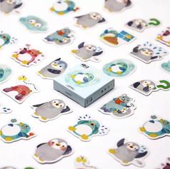 Pack Autocollants Pingouins