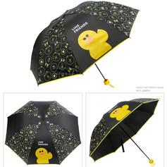 Parapluie Noir Canard
