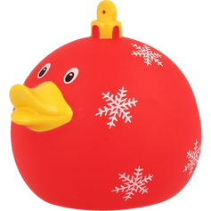 Canard Boule de Noël Rouge