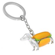 Porte clés Chien Hot Dog