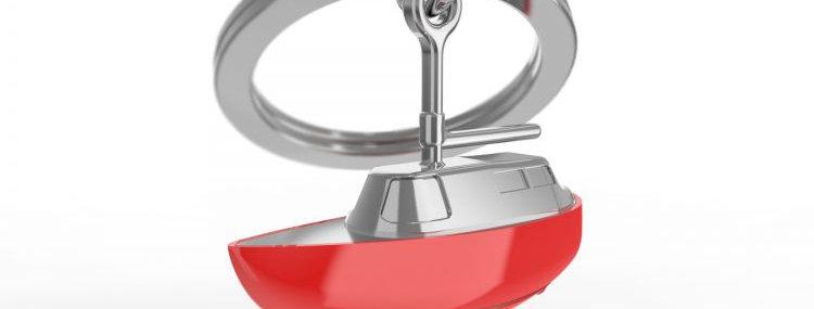 Porte clés Voilier