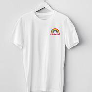 T-Shirt Canard Arc en Ciel