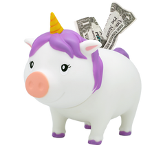 Cochon Licorne Blanche