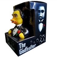 """Canard """"THE GODFEATHER RUBBER DUCK"""""""