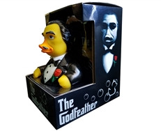 "Canard ""THE GODFEATHER RUBBER DUCK"""
