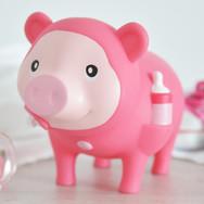 Cochon Bébé Fille Rose