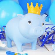 Cochon Bleu Couronne